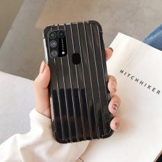 Ally Samsung Galaxy M31 Trunk Lines ince Soft Silikon Kılıf