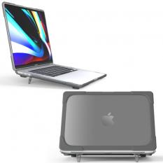 MacBook Pro 16 inch A2141 (2019) Şeffaf Standlı Koruyucu Kılıf