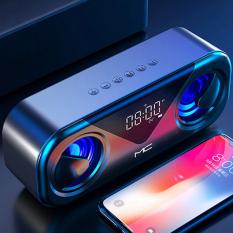 ALLY MC H9 Bluetooth Hoparlörler Speaker Subwoofer Soundbar Destekli Saat Led