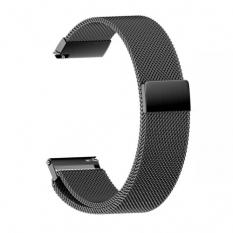 22MM Gear S3 Watch 4 -GT2 GT2E 46MM Kayış,Kordon Metal Milano Loop