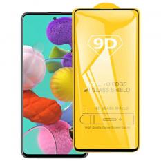 ALLY Galaxy A51 9D Full Glue Tempered Cam Ekran Koruyucu