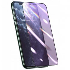 Baseus 0.25mm İPhone 11 PRO -XS -X 3D Curved Full Anti Blue Ekran Koruyucu