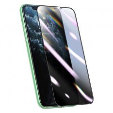 Baseus 0.25mm İPhone 11 Pro-XS-X 3D Curved Privacy Gizlili Cam Ekran Koruyucu