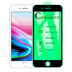ALLY İPhone SE 2020 İP 8 İP7 9D Full Glue Ceramics Film Ekran Koruyucu