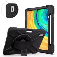 Huawei MatePad 10.4 Kılıf Shockproof 3 Katmanlı Standlı Zırh Kılıf