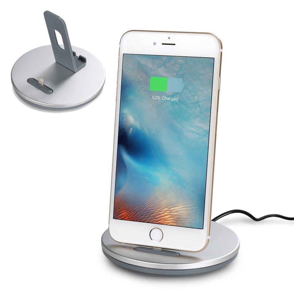 İPhone 5s,6s plus  2 in1 Aluminium Tefon &Tablet standı (Lightning usb)