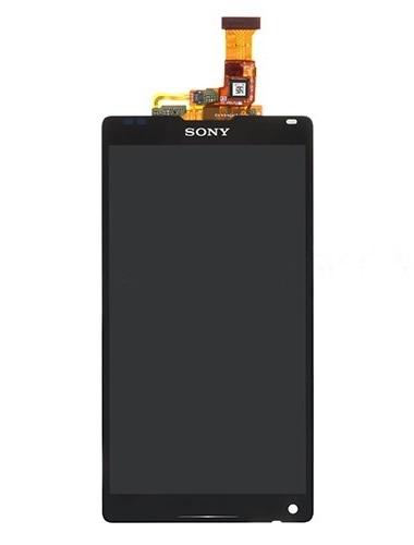 SONY XPERİA ZL L35H ORJİNAL DOKUNMATİK LCD EKRAN SİYAH