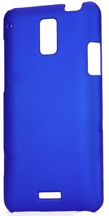 HTC J Z321E SERT PLASTİK KILIF MAVİ