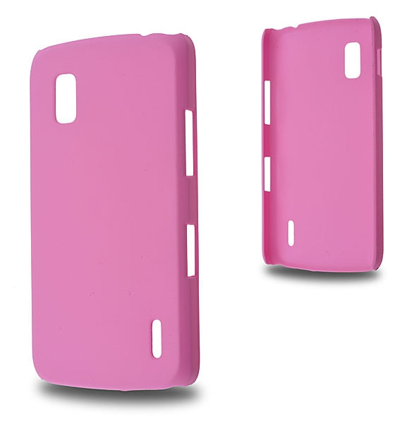 LG NEXUS 4 E960 SERT PLASTİK KILIF PEMBE