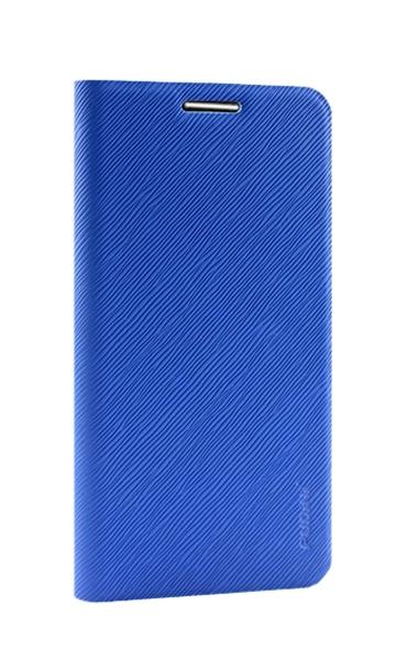 LG G2 D802 FASHİON DESİNG İNCE KAPAKLI CÜZDAN KILIF MAVİ