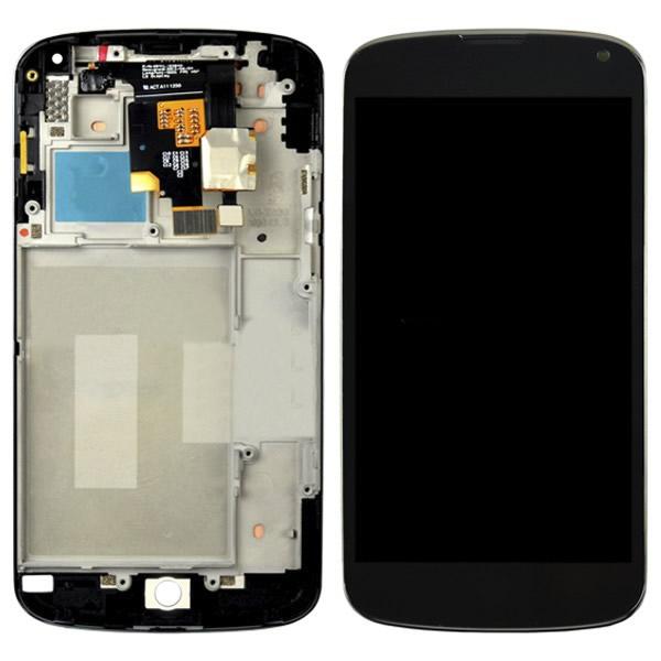 LG NEXUS 4 E960 ORJİNAL LCD EKRAN DOKUNMATİK ÇITALI
