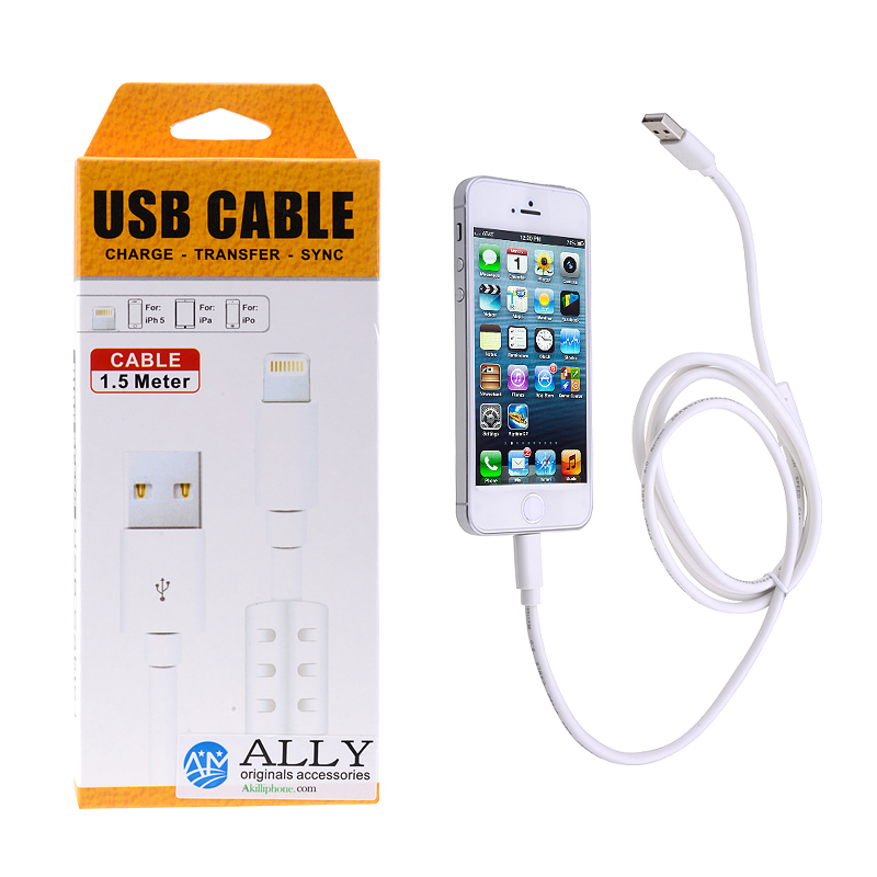 BEST QALİTY İPHONE 5.5C.5S.İPAD 4.5 MİNİ 2 1.5 METRE USB KABLO