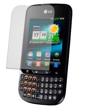 LG C660 EKRAN KORUYUCU JELATİN