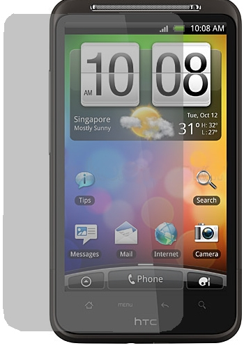 HTC A9191 DESİRE HD G10 (PD98100) EKRAN KORUYUCU FİLM/JELATİN