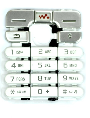SONY ERİCSSON W800 ORJİNAL TUŞ/KEYPAD