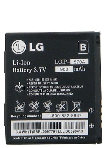 LG  Lgip 570A  KC780 KF690  KF700 Orjinal pil Batarya