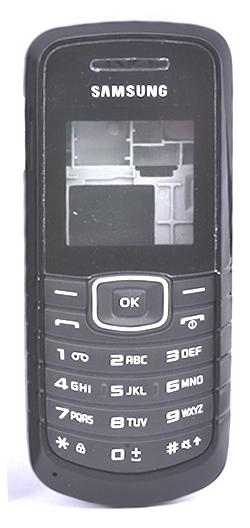 SAMSUNG E1081 SİYAH KASA/KAPAK TUŞ