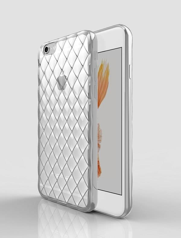 APPLE İPHONE 5G,5S,5SE DARBE EMİCİ 3D KRİSTAL SEFAF SİLİKON KILIF
