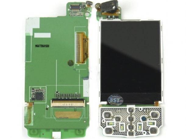 SAMSUNG D820 ORJ EKRAN LCD TÜŞ BORD