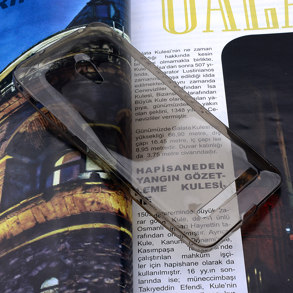 ASUS ZENFONE 5 LİTE SPADA KRİSTAL SOFT SİLİKON KILIF