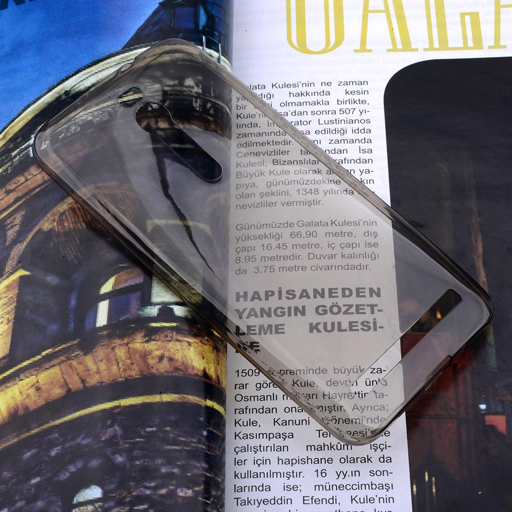ASUS ZENFONE 2 5.5 SPADA KRİSTAL SOFT SİLİKON KILIF