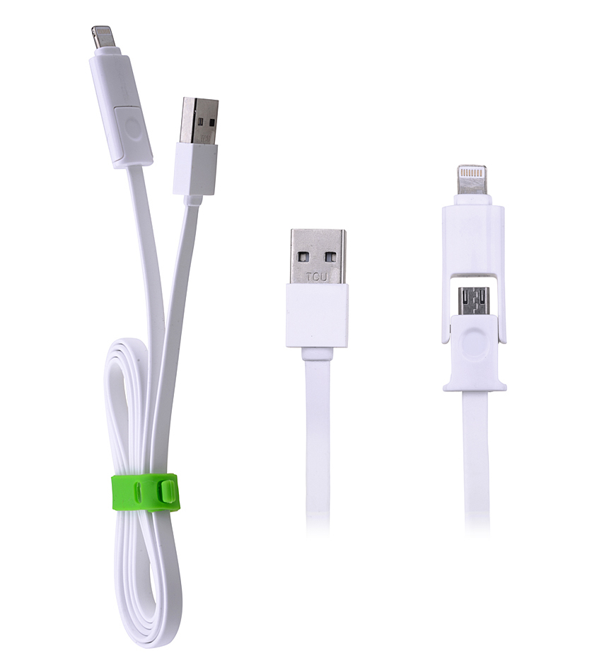 ALLY 2İN1 İPHONE LİGHTNİNG VE MİCRO USB DATA KABLO