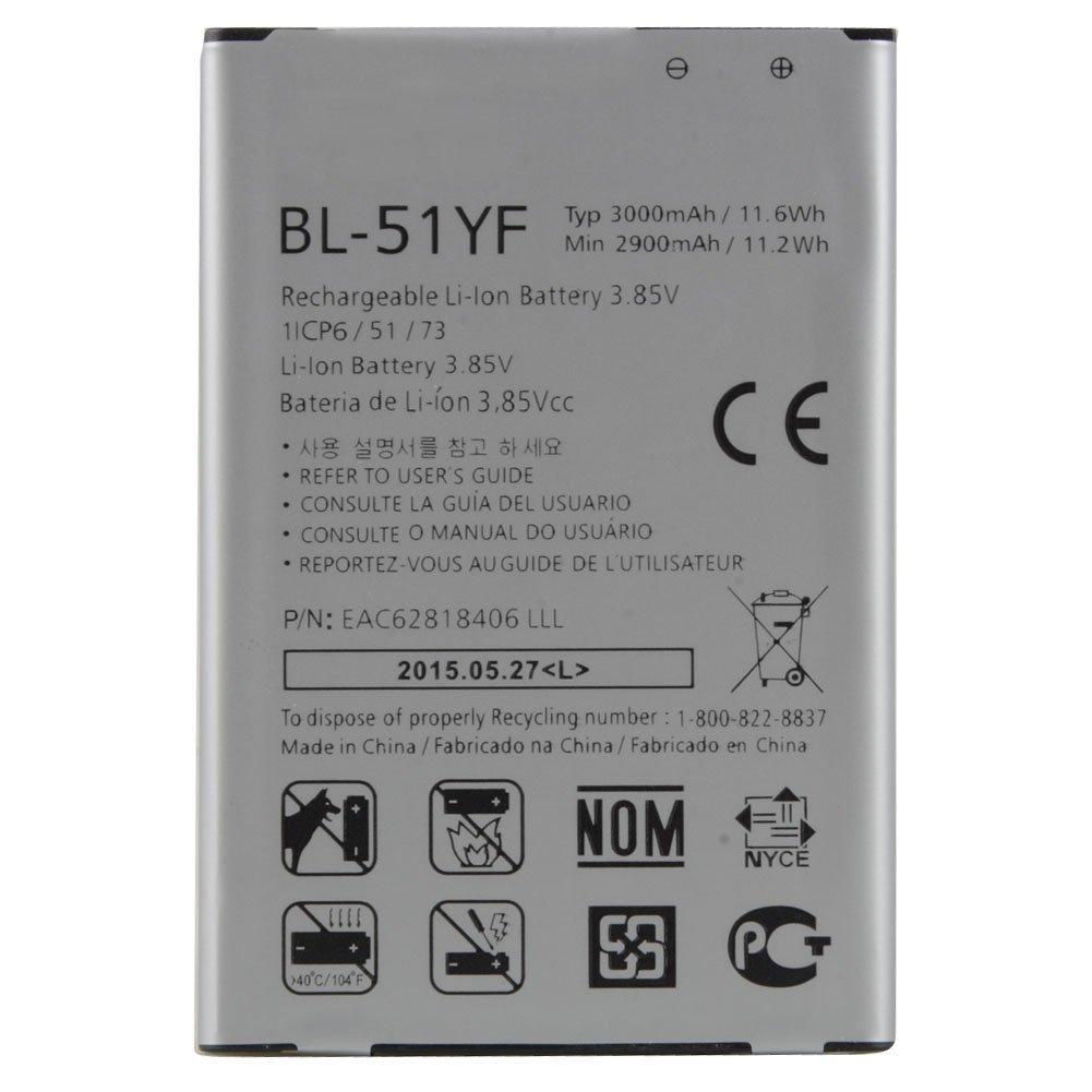LG G4 H810 H811 H814 H815 BL-51YF ORJİNAL PİL BATARYA .
