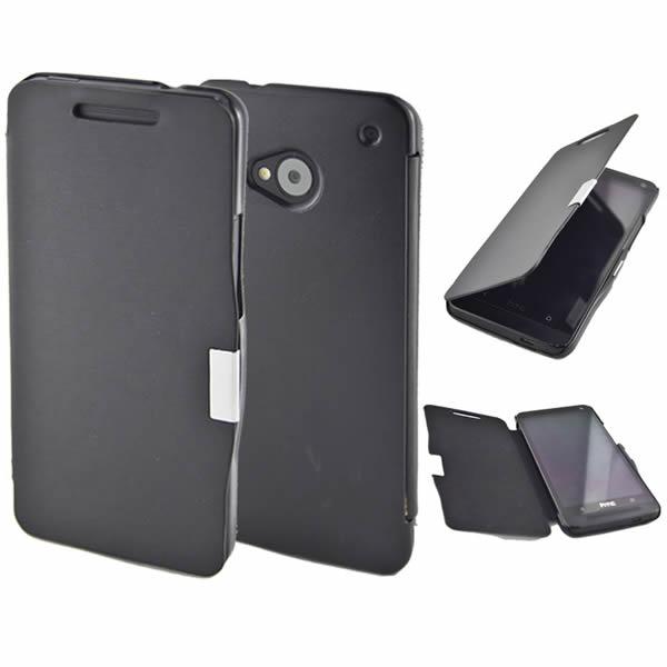 HTC ONE M7 FLİP COVER KILIF MIKNATISLI
