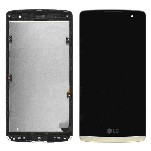 LG LEON C40 H324TR ORJ EKRAN VE DOKUNMATİK GOLD .