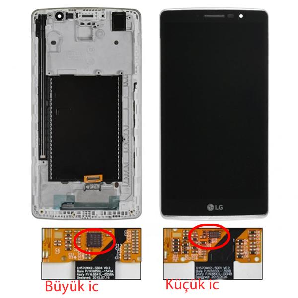 LG G STYLO H630D H631 H634 H635 H636 G4 STYLUS ORJ EKRAN DOKUNMATİK ÇITALI BUYUK İC