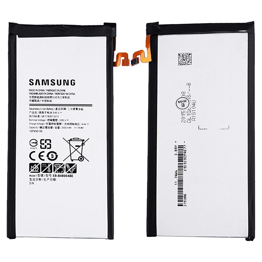 EB-BA800ABE SAMSUNG GALAXY A8 A800,3050MAH ORJ PİL BATARYA .